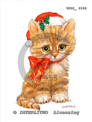 GIORDANO, CHRISTMAS ANIMALS, WEIHNACHTEN TIERE, NAVIDAD ANIMALES, paintings+++++,USGI2196,#XA#