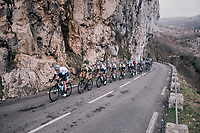 Team SKY leading the way<br /> <br /> 76th Paris-Nice 2018<br /> stage 6: Sisteron &gt; Vence (198km)