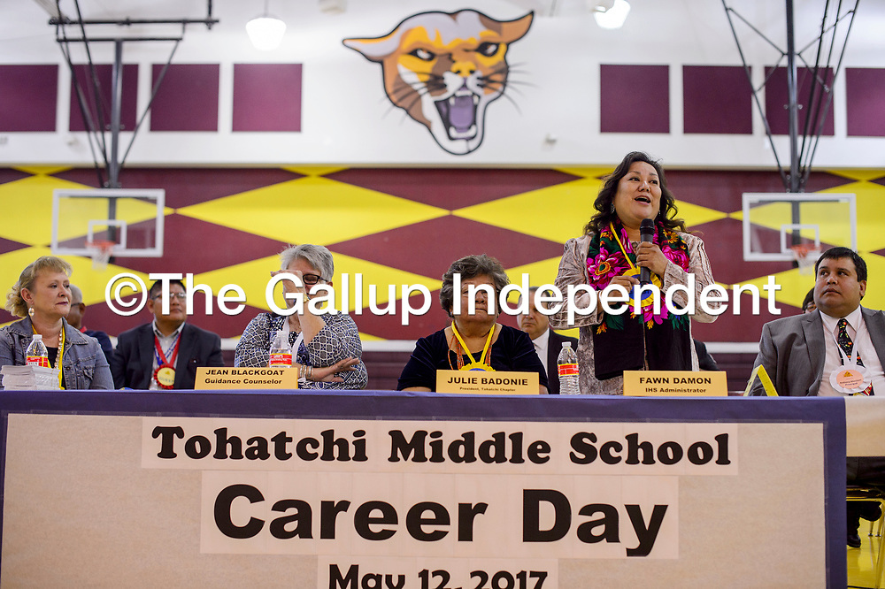 Tohatchi Middle School Career Day 051217 | Gallup Independent