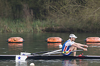 Caversham. Berkshire. UK<br /> Thomas HUTCHINSON.<br /> 2016 GBRowing U23 Trials at the GBRowing Training base near Reading, Berkshire.<br /> <br /> Monday  11/04/2016 <br /> <br /> [Mandatory Credit; Peter SPURRIER/Intersport-images]