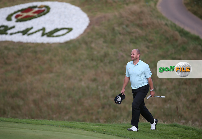 Craig Lee (SCO) steps onto the 16th during Round Two of the Made in Denmark 2014 Pro-Am from the Himmerland Golf & Spa Resort, Aalborg, Denmark. Picture:  David Lloyd / www.golffile.ie