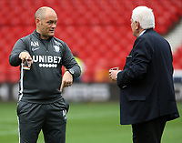 Preston North End manager Alex Neil inspects the ground before kick off<br /> <br /> Photographer David Shipman/CameraSport<br /> <br /> The EFL Sky Bet Championship - Nottingham Forest v Preston North End - Saturday 31st August 2019 - The City Ground - Nottingham<br /> <br /> World Copyright © 2019 CameraSport. All rights reserved. 43 Linden Ave. Countesthorpe. Leicester. England. LE8 5PG - Tel: +44 (0) 116 277 4147 - admin@camerasport.com - www.camerasport.com