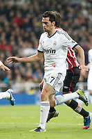 Real Madrid CF vs Athletic Club de Bilbao (5-1) at Santiago Bernabeu stadium. The picture shows Alvaro Arbeloa. November 17, 2012. (ALTERPHOTOS/Caro Marin) NortePhoto