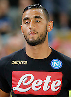 Faouzi Ghoulam  during the friendly soccer match,between SSC Napoli and Onc Nice      at  the San  Paolo   stadium in Naples  Italy , August 01, 2016<br />  during the friendly soccer match,between SSC Napoli and Onc Nice      at  the San  Paolo   stadium in Naples  Italy , August 02, 2016