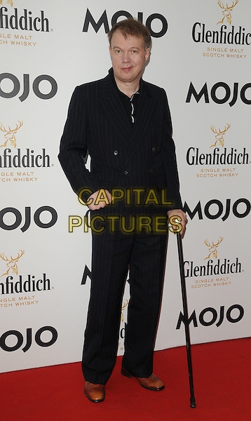 EDWYN COLLINS.Glenfiddich Mojo Honours List Awards 2011 at The Brewery, London - 21st July 2011.full length black suit hand in pocket cane.CAP/CAN.©Can Nguyen/Capital Pictures.