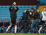 Clayton Donaldson of Sheffield Utd applauds the fans with his man of the match award during the Championship match at Villa Park Stadium, Birmingham. Picture date 23rd December 2017. Picture credit should read: Simon Bellis/Sportimage