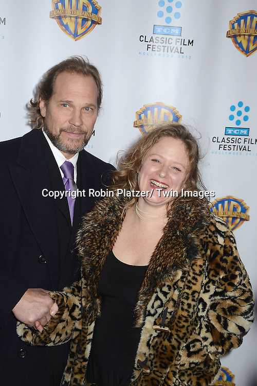 """Nicole Fosse and husband attends the 40th Anniversary of """"Cabaret"""" on January 31, 2013 at the Ziegfeld Theatre in New York City. The movie has been remastered and will be on Blu-Ray and DVD. The cast includes Michael York, Liza Minnelli, Joel Grey and Marisa Berenson"""