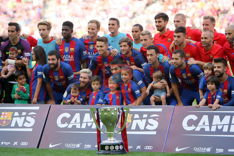 League Santander 2016/2017. Game: 1.<br /> FC Barcelona vs Real Betis: 6-2.