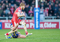 Picture by Allan McKenzie/SWpix.com - 04/03/2017 - Rugby League - Betfred Super League - Salford Red Devils v Warrington Wolves - AJ Bell Stadium, Salford, England - Kris Welham.