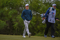Cody Gribble (USA) heads down 15 during Round 2 of the Valero Texas Open, AT&T Oaks Course, TPC San Antonio, San Antonio, Texas, USA. 4/20/2018.<br /> Picture: Golffile | Ken Murray<br /> <br /> <br /> All photo usage must carry mandatory copyright credit (© Golffile | Ken Murray)