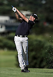 Tyler Hodge during the Autex Muriwai Open, Muriwai Golf Club, Auckland, Saturday 30 April 2016. Photo: Simon Watts/www.bwmedia.co.nz