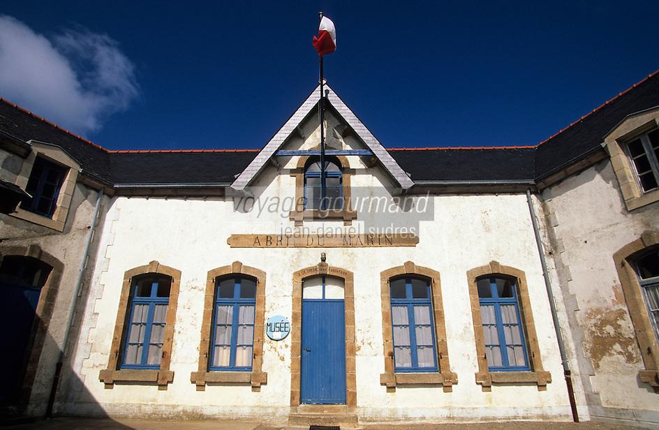 """Europe/France/Bretagne/29/Finistère/Ile de Sein: Le musée """"l'abri du marin"""""""