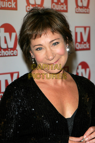 ZOE WANAMAKER.Inside Arrivals at the TV Quick & TV Choice Awards, The Dorchester Hotel, London, England. .September 3rd 2007.headshot portrait .CAP/AH.©Adam Houghton/Capital Pictures s
