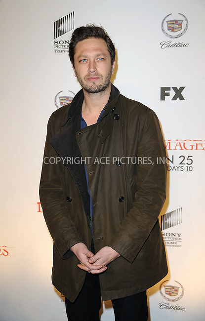 WWW.ACEPIXS.COM . . . . . ....January 19 2010, New York City....Actor Ebon Moss-Bachrach arriving at the Season 3 premiere of 'Damages' at the AXA Equitable Center on January 19, 2010 in New York City.....Please byline: KRISTIN CALLAHAN - ACEPIXS.COM.. . . . . . ..Ace Pictures, Inc:  ..tel: (212) 243 8787 or (646) 769 0430..e-mail: info@acepixs.com..web: http://www.acepixs.com