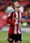 Stefan Scougall of Sheffield United during the Emirates FA Cup Round One match at Bramall Lane Stadium, Sheffield. Picture date: November 6th, 2016. Pic Simon Bellis/Sportimage