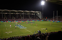 Action during the 2018 Super Rugby final between the Crusaders and Lions at AMI Stadium in Christchurch, New Zealand on Sunday, 29 July 2018. Photo: Joe Johnson / lintottphoto.co.nz