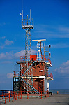 A728P1 Coast watch coastguard station Gorleston Norfolk England