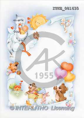 Isabella, BABIES, paintings, baby, teddy(ITKE081635,#B#) bébé, illustrations, pinturas ,everyday