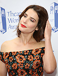 Cobie Smulders attends the 73rd Annual Theatre World Awards at The Imperial Theatre on June 5, 2017 in New York City.