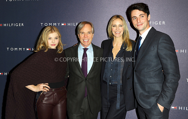 WWW.ACEPIXS.COM . . . . .  ..... . . . . US SALES ONLY . . . . .....December 1 2011, London....Chloe Moretz, Tommy Hilfiger, Dee Ocleppo and Matthew Goode at the opening of the Tommy Hilfiger flagship store on December 1 2011 in London....Please byline: FAMOUS-ACE PICTURES... . . . .  ....Ace Pictures, Inc:  ..Tel: (212) 243-8787..e-mail: info@acepixs.com..web: http://www.acepixs.com