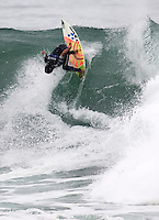 Bruno Rodrigues. 2009 ASP WQS 6 Star US Open of Surfing in Huntington Beach, California on July 24, 2009. ..