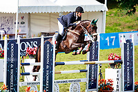 BRA-Marcio Carvalho Jorge rides Lissy Mac Wayer during the British Open Championship Incorporating the Event Rider Masters CIC3* Showjumping. 2017 GBR-Festival of British Eventing at Gatcombe Park. Sunday 6 August. Copyright Photo: Libby Law Photography
