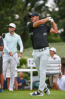 Brooks Koepka (USA) watches his tee shot on 12 during Rd4 of the 2019 BMW Championship, Medinah Golf Club, Chicago, Illinois, USA. 8/18/2019.<br /> Picture Ken Murray / Golffile.ie<br /> <br /> All photo usage must carry mandatory copyright credit (© Golffile | Ken Murray)