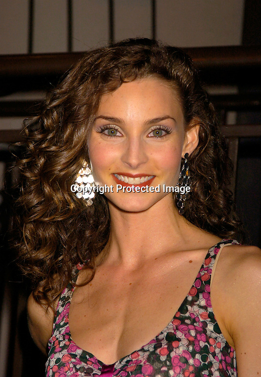 Alicia Minshew in Diane Von Furstenberg outfit ..at ABC Casino Night on October 7, 2004 at The Lighthouse..at Chelsea Piers. ..Photo by Robin Platzer, Twin Images