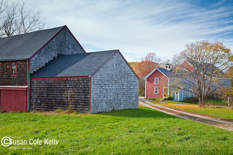 Cogswell's Grant farm (1728), preserved by Historic New England,  in Essex, MA, USA