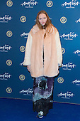London, UK. 19 January 2016. Model and actress Lily Cole. Celebrities arrive on the red carpet for the London premiere of Amaluna, the latest show of Cirque du Soleil, at the Royal Albert Hall.