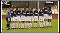 24/8/02         Copyright Pic : James Stewart                     .File Name : stewart-alloa v falkirk 01.THE FALKIRK TEAM OBSERVE THE MINUTES SILENCE IN HONOUR OF THE TWO MURDERED SOHAM GIRLS....James Stewart Photo Agency, 19 Carronlea Drive, Falkirk. FK2 8DN      Vat Reg No. 607 6932 25.Office : +44 (0)1324 570906     .Mobile : + 44 (0)7721 416997.Fax     :  +44 (0)1324 570906.E-mail : jim@jspa.co.uk.If you require further information then contact Jim Stewart on any of the numbers above.........