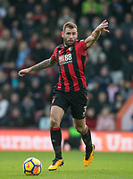 Steve Cook of AFC Bournemouth during the Premier League match between Bournemouth and Arsenal at the Goldsands Stadium, Bournemouth, England on 14 January 2018. Photo by Andy Rowland.