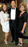 From left: Robin Van Zant with Robert and Judy Van Zant at the JDRF Promise Ball at the Hilton Americas Hotel Saturday May 22,2010.  (Dave Rossman Photo)