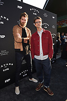 "LOS ANGELES - AUGUST 27: Rhett McLaughlin and Link Neal attend the season two red carpet premiere of FX's ""Mayans M.C"" at the ArcLight Dome on August 27, 2019 in Los Angeles, California. (Photo by Frank Micelotta/FX/PictureGroup)"