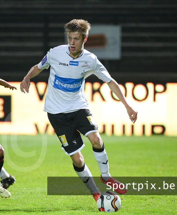 KSV Roeselare : Kjetil Borry <br /> foto VDB / BART VANDENBROUCKE