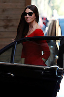 Monica Bellucci<br /> Roma 18-02-2015 Campidoglio. In occasione del'inizio delle riprese del nuovo 007 a Roma, visita dei due attori al Campidoglio.<br /> Due to the new dil of James Bond, 007, that will be set in Rome, actors Daniel Craig and Monica Bellucci visit the Campidoglio<br /> Photo Samantha Zucchi Insidefoto