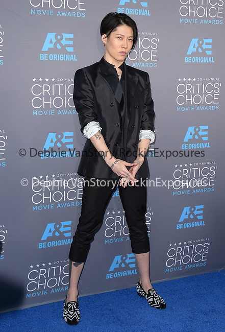 Takamasa Ishihara<br />  attends The 20th ANNUAL CRITICS' CHOICE AWARDS held at The Hollywood Palladium Theater  in Hollywood, California on January 15,2015                                                                               © 2015 Hollywood Press Agency