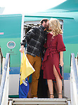 Spanish Point man John Burke, kisses his wife Aoibhin Garrihy on his arrival back to Shannon Airport, following his successful attempt, being the first Clare person ever to climb Mount Everest. Photograph by John Kelly.
