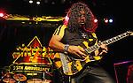 Stryper performs at the Bijou Theater in Knoxville, Tennessee on October 2, 2009. (Photo by Frederick Breedon)