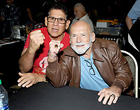 NEW YORK, NY - NOVEMBER 4:  Tito Santana and Ivan Putski attends the Big Event NY at LaGuardia Plaza Hotel on November 4, 2017 in Queens, New York.  Credit: George Napolitano/MediaPunch /NortePhoto.com