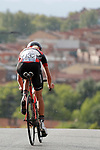 Anna Baidax (RUS) Eneicue Cycling Team in action during Stage 1 of the Ceratizit Madrid Challenge by La Vuelta 2019 running 9.3km individual time trial around Boadilla del Monte, Spain. 14th September 2019.<br /> Picture: Luis Angel Gomez/Photogomezsport | Cyclefile<br /> <br /> All photos usage must carry mandatory copyright credit (© Cyclefile | Luis Angel Gomez/Photogomezsport)