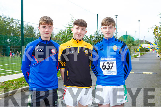 At the CBS, The Green Fun Run on Sunday were Armin Heinrich, Rory O'Connell and Denis Moriarty