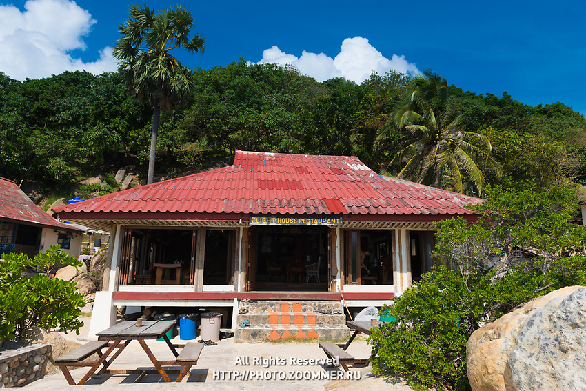 Lighthouse Restaurant In Phangan island, Thailand