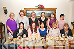 PARTY TIME: Students of Kerry Education Services who are currently doing a course on Community Development got together for their Christmas party in Bella Bia, Tralee on Friday night last, front l-r: Sinead O'Sullivan, Catriona Locke, Mai Harris, Jacinta Bourke and Maria O'Sullivan. Back l-r: Eileen Comerford, Catherine O'Carroll, Noreen Teahan, Marie Edwards, Georgina Collins and Kristine Silina.