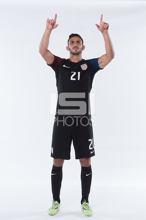 2016 USMNT Feature Photo Shoot.