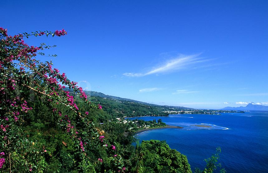 Scenic Polynesia, Tahiti,  French Polynesia, Pacific South Rim