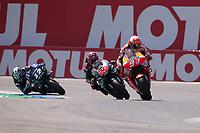 MARC MARQUEZ - SPANISH - REPSOL HONDA TEAM - HONDA<br /> FABIO QUARTARARO - FRENCH - PETRONAS YAMAHA SRT - YAMAHA<br /> MAVERICK VINALES - SPANISH - MONSTER ENERGY YAMAHA MotoGP - YAMAHA<br /> Assen 30/06/2019  <br /> Moto Gp Paesi Bassi Olanda 2019 <br /> Foto Vincent Guignet / Panoramic / Insidefoto