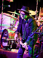 """Billy Mercer, Bass for the """"KEIFER BAND"""" Performs at The Coach House in San Juan Capistrano during their Rise Tour on August 30th, 2019"""