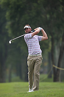 Hit and miss card of 75 for Scott Jamieson (SCO) during the Final Round of the 2014 Maybank Malaysian Open at the Kuala Lumpur Golf & Country Club, Kuala Lumpur, Malaysia. Picture:  David Lloyd / www.golffile.ie