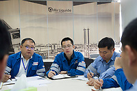Air Liquide Electronics Materials Center China (EMCC) Factory in Zhangjiagang, China, on 20 October 2017. Photo by Lucas Schifres/Studio EAST